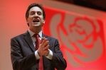 Labour Party Leader Ed Miliband Speaks At The Scottish Labour conference